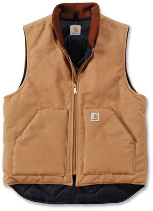 Carhartt V01 Arctic Quilt Lined Duck Vest