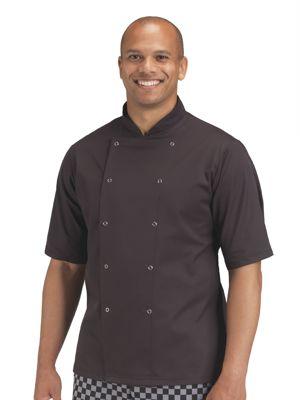 Dennys DD16S Lightweight Shortsleeve Chefs Jacket
