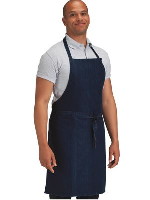 Dennys DP112 Denim Bib Apron