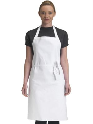 Dennys DP35EQ Cotton Bib Apron