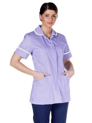 DVDTR Work in Style Female Striped Tunic