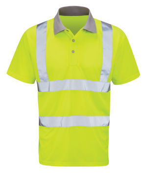 Black Knight MERCURY Hi-Vis Polo Shirt