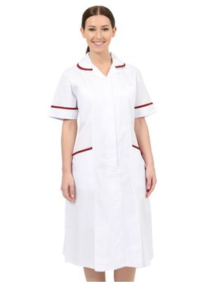 Behrens NCLDR Ladies Healthcare Dress - Revere Collar