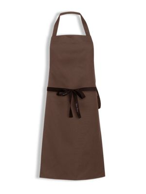 Oliver Harvey OHAP300582 Brown Bib Apron