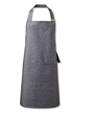 Oliver Harvey OHAPP0534GD Grey Front of House Denim Apron