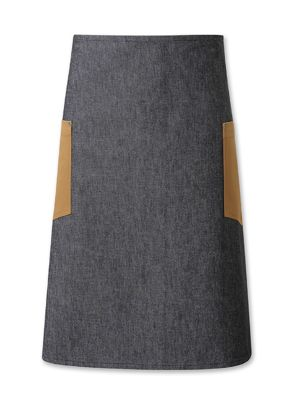 Oliver Harvey OHAPP060003/153DEN Black Denim Waist Apron