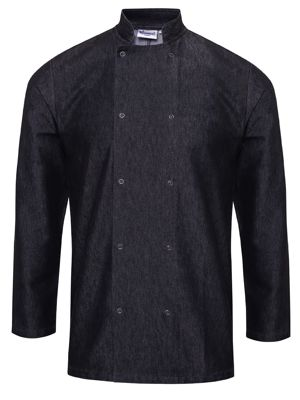 Premier PR660 Denim Chefs Jackets