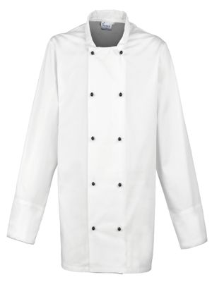 Premier PR661 Cuisine Long Sleeve Chefs Jacket