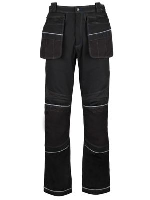 Tungsten by Alexandra TN020 Stretch Panel Holster Trousers