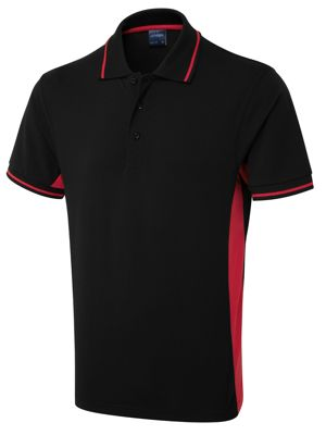 Uneek UC117 Two Tone Poloshirt