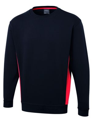 Uneek UC217 Two Tone Sweatshirt