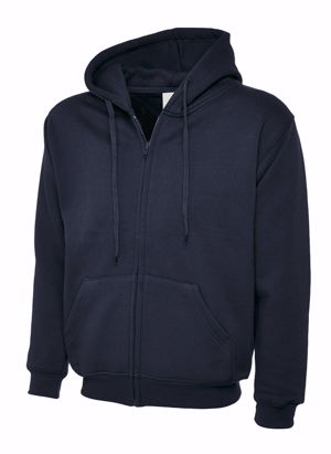 Uneek UC504 Classic Full Zip Hooded Sweatshirt