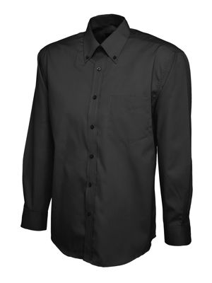Uneek UC701 Mens Pinpoint Oxford Long Sleeve Shirt
