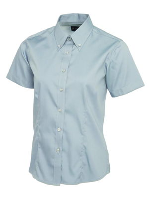 Ladies UC704 Pinpoint Oxford Short Sleeve Shirt by Uneek