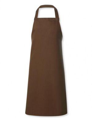 Oliver Harvey OHAPP0544222 Cocoa Brown Stud Halter Apron