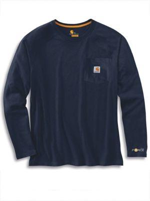 Carhartt Force 100393 Cotton Long Sleeve T-Shirt