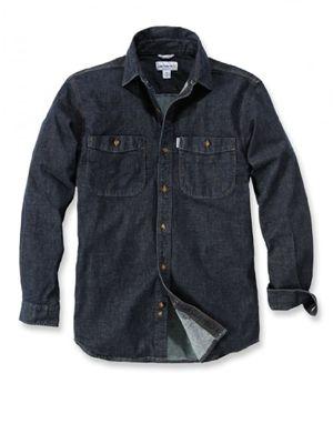Carhartt 102257 Rugged Flex Patten Denim Shirt