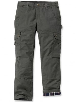 Carhartt 102287 Ripstop Flannel Lined Cargo Pants