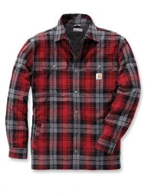 Carhartt 102333 Hubbard Sherpa Lined Shirt Jacket