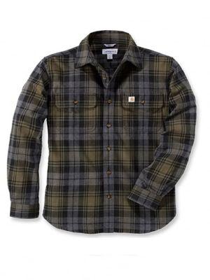 Carhartt 102887 Hubbard Slim Fit Flannel Shirt