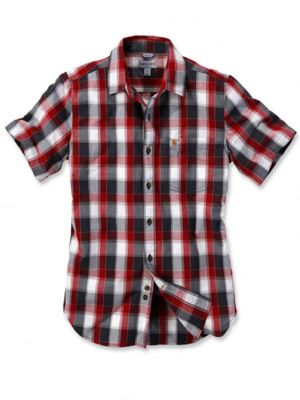 Carhartt 103010 Slim Fit Plaid Shirt