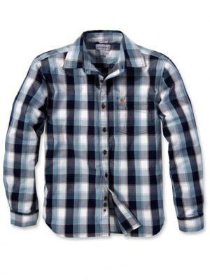 Carhartt 103190 Slim Fit Plaid Long Sleeve Shirt