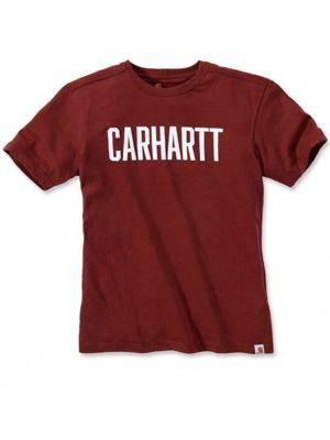 Carhartt 103203 Maddock Graphic Block Logo T-Shirt