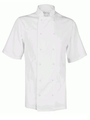 Fusion CCJ1 Unisex Short Sleeve Chefs Jacket