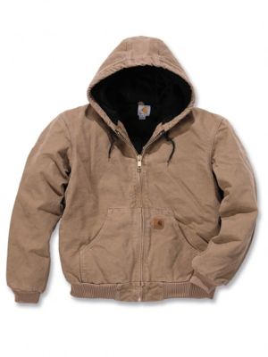 Carhartt J130 Quilt Flannel Lined Sandstone Active Jacket