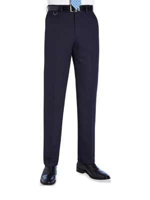 Brook Taverner Mars Mens Flat Front Trouser