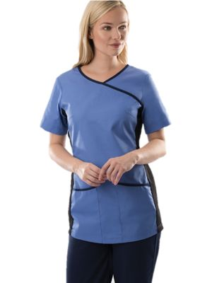Alexandra NF43 Stretch Scrub Top