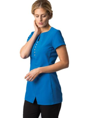 Alexandra NF58 Womans Notch Neck Tunic