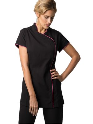 Alexandra NF59 Womans Easy-care Wrap Zip Tunic