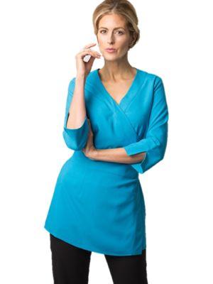 Alexandra NF83 Womans 3/4 Sleeve Wrap Tunic