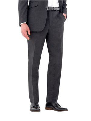 Clubclass Putney Easy Waist Tailored Fit Trousers