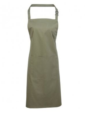 Premier PR154 Bib Apron with Pocket
