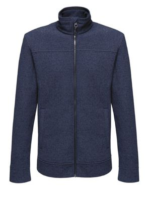 Regatta TRF598 Parkline Full Zip Mini Stripe Fleece