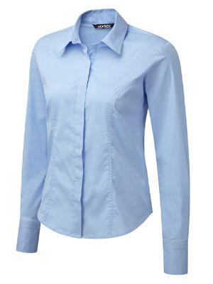 Vortex Zoe LS Shirt Style Blouse