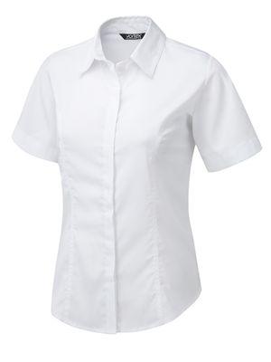 Vortex Zoe SS Shirt Style Blouse