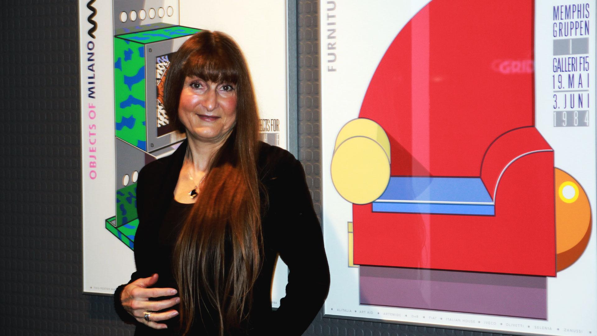 Professor i visuell kommunikasjon, Wanda Grimsgaard liker Memphis