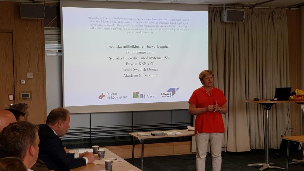 Anna Rosenqvist medverkade på TMF:s branschrådsmöte