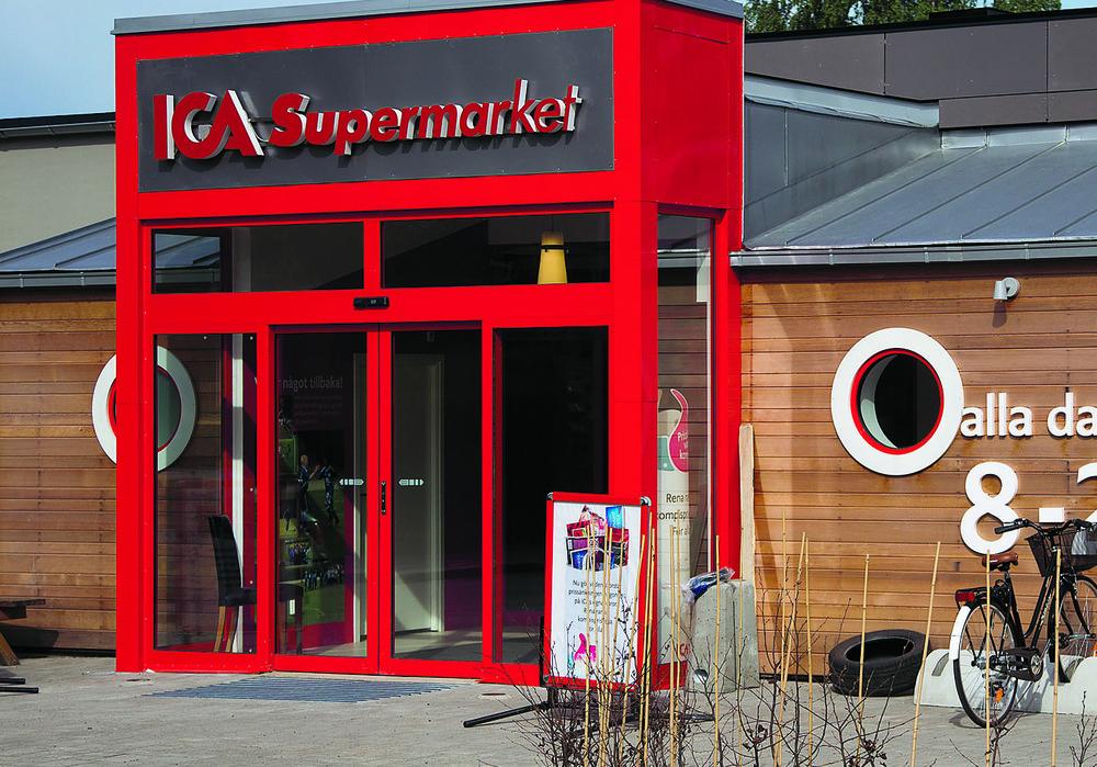 bild som tillhör artikeln ICA Supermarket Lammhult