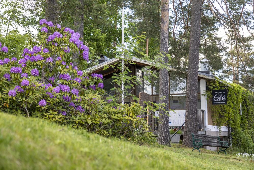 bild som tillhör artikeln Svenssons gårdscafé