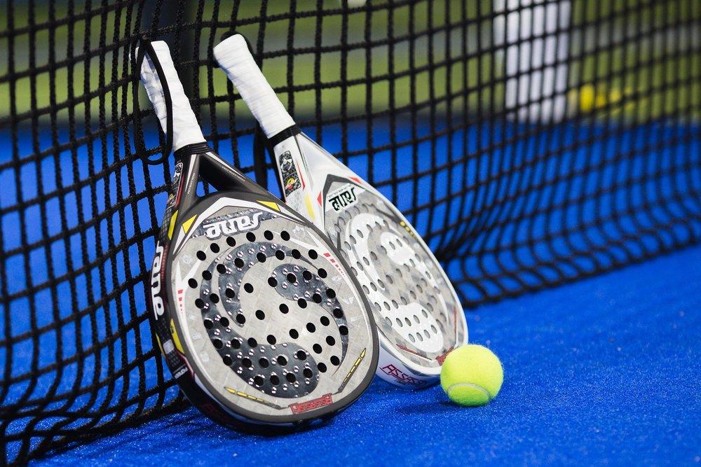 bild som tillhör artikeln Padel och tennis
