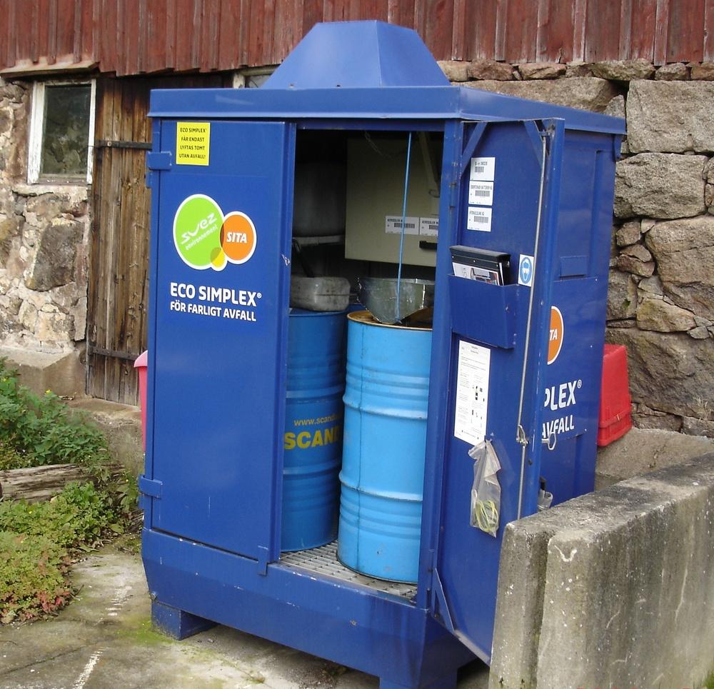 Ny rapportering av farligt avfall från 1 november.