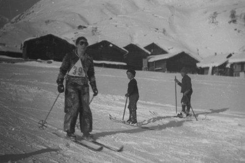 Cuorsa da skis a Gonda/Sedrun