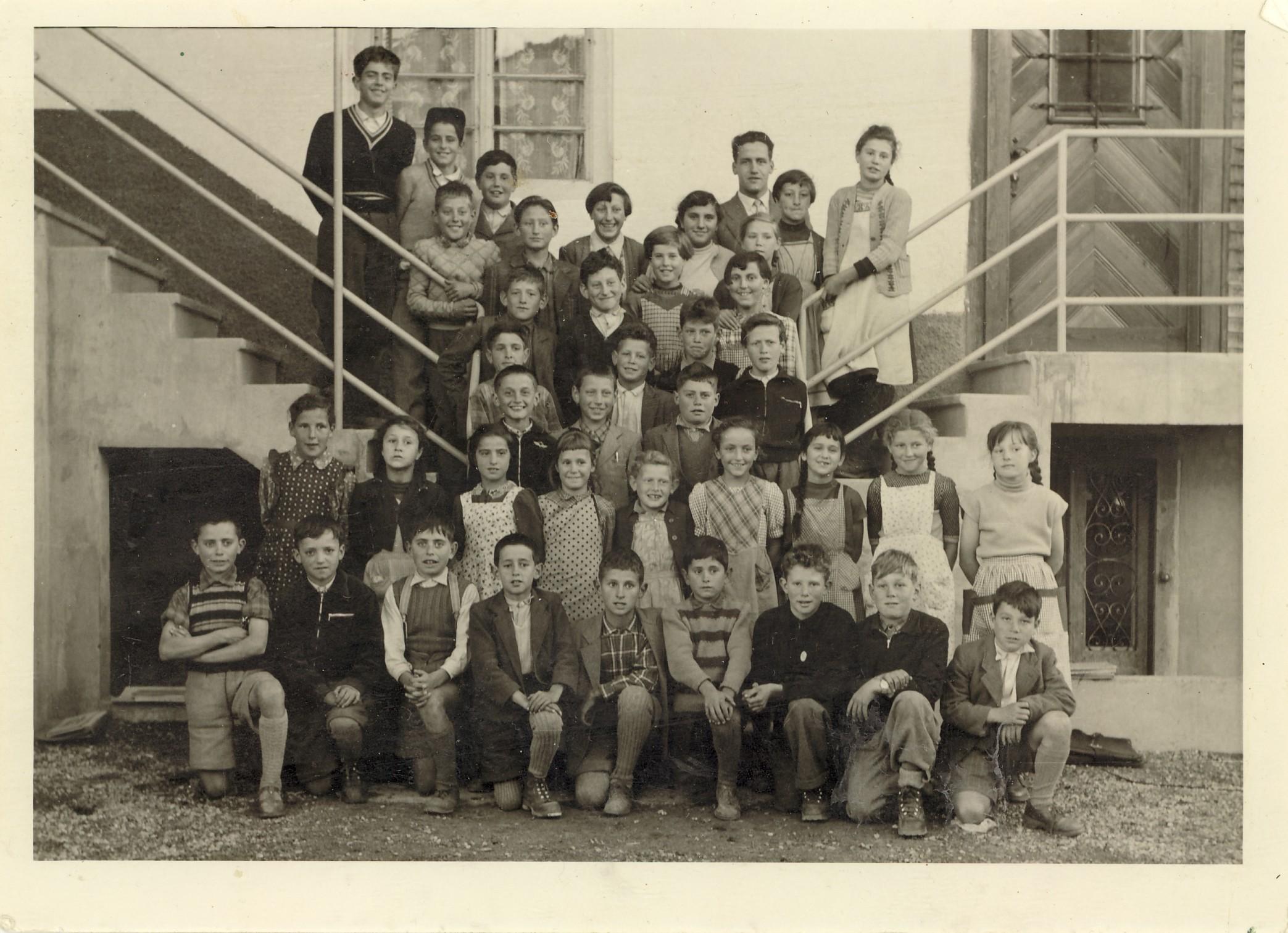 Scola primara Lumbrein 1957