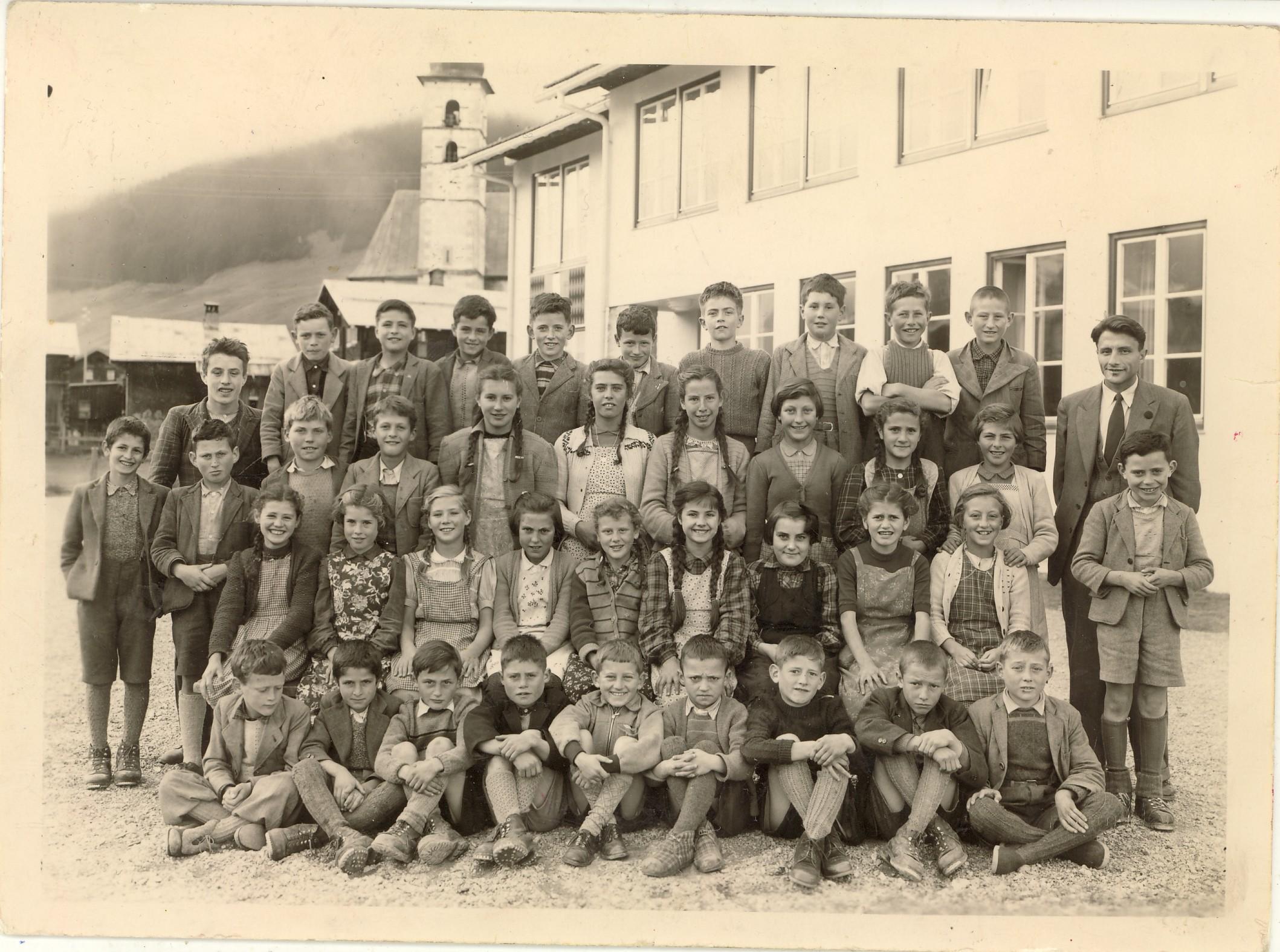 Sola primara Lumbrein 1955