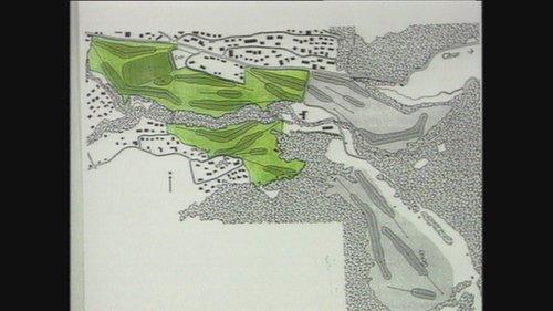 Project per ina plazza da golf a Flem