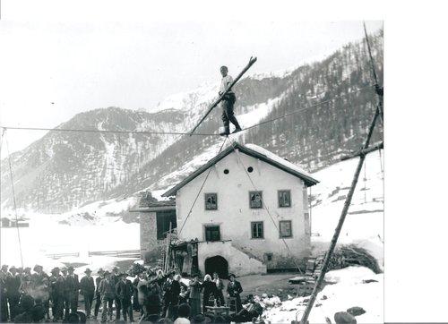 Circus a Tschierv 1920